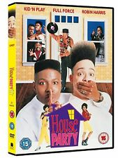 HOUSE PARTY Region 2 UK DVD Christopher Reid, Robin Harris BRAND NEW & SEALED