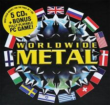"Var. ""Worldwide Metal"" 5 CD Box + Earache Racing Game!"