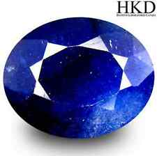10.33 cts HKD-certified Natural UnHeated Oval-cut Blue VVS Sapphire (Africa)