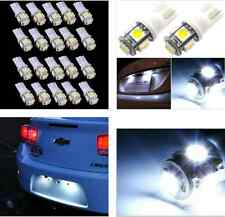 20*T10-5SM 5050 W5W 194 168 LED White Car Side Wedge Tail Light Lamp