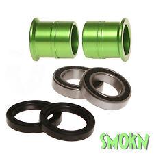 RFX Front Wheel Spacer Bearing & Seal Kit Kawasaki KX 125 KX 250 06-08 Green