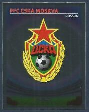 PANINI UEFA CHAMPIONS LEAGUE 2007-08- #145-CSKA MOSCOW TEAM BADGE-SILVER FOIL