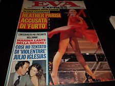 EVA EXPRESS 5/80 HEATHER PARISI IGLESIAS CARRA' PUPO BARBARA D'URSO BO DEREK BB