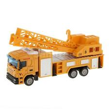 1:64 Diecast Telescopic Crane Lifter Truck Model Alloy Vehicle Cars Toys