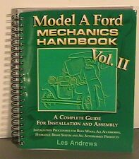 1928 1929 1930 1931 Model A Ford Mechanics Handbook Vol 2