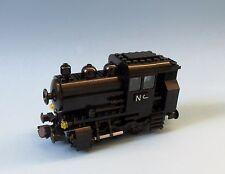 Lego Eisenbahn - Lok, Dampflok   BR 80 schwarz - mit  9V Achsen   (10183)