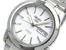 Seiko 5 Men's SNKE49K1 Stainless Steel Automatic 21 Jewels Day Date Watch