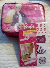 Barbie Wall Stickers & Lunch box Soft Sided 135 Removable Decals, DC7393 NWT