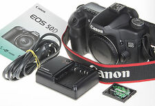 Canon EOS 50D DSLR Camera +Extended firmware +Video Recording +4Gb CF *good cnd*