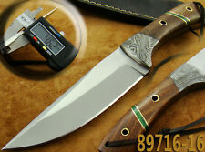 Handmade Couteau de chasse 420-C Steel Lame fixe Camping Hunting Knife 89716-16