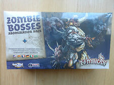 Zombicide Black Plague  Zombie Bosses: Abomination Pack (new and sealed) CMON