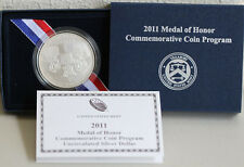 2011 Medal of Honor Silver Dollar US Mint UNCIRCULATED Army BU Coin with Box COA