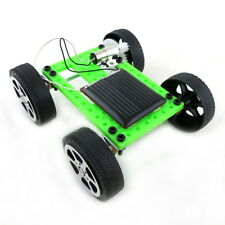 Mini Solar Powered Toy DIY Car Kit Children Educational Gadget Hobby Funny UL FS