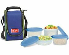 Milton Full Meal 4 Tiffin Lunch Box with vat paid bill