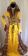 Next Day Delux Medieval Renaissance Women Halloween Costume Fancy Dress Size8 10