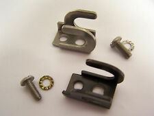 Throttle & shift control cable clamps for older Johnson Evinrude outboard motors