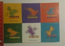 Aufkleber/Sticker: Expo 2000 Hannover die Weltausstellung (11101693)