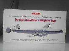 TOP: Wiking Lockheed L1049G Super Constellation der Lufthansa 1:200 in OVP
