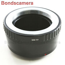 M42 screw mount lens To Nikon 1 mount Camera Adapter J1 J2 V1 V2