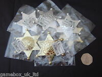 Sheriffs Badge Plastic Loot Bag/Pinata/Party Bag Fillers/Toys/Favours/Lucky Dip