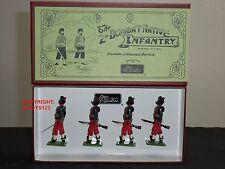 Britains 49001 2ND Bombay nativo infantería marchando Metal Conjunto figura soldado de juguete