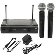 PRO FAMILY Dual CORDLESS MICROPHONE SYSTEM WITH WIRELESS UT4 TYPE +2 MIC