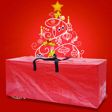 Heavy Duty Large Artificial Christmas Tree Bag For Clean Up Holiday RED