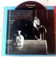 LEO FERRE' / METAMEC - CD (+ corposo booklet con foto e testi - 2000) NM / NM