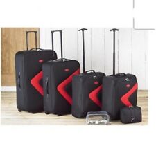 6 PIECE LUGGAGE SUITCASE SET LIGHTWEIGHT SUITCASES