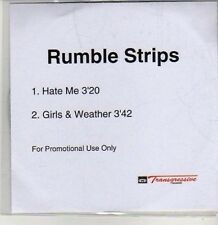 (CS510) Rumble Strips, Hate Me / Girls & Weather - DJ CD