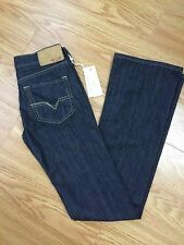 DIESEL RAMYS WOMEN'S BOOT CUT STRETCH JEANS NWT SIZE 24 / 32
