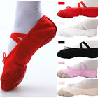 NEWLY Comfortable Canvas Ballet Dance Shoes Suitable For Children,Teenage,Adult