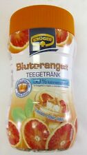 Kruger BLOOD ORANGE Tea Instant Drink -hot or cold - 400g - Made in Germany-