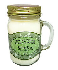 Olive Tree Scented Candle in 13 oz Mason Jar by Our Own Candle Company