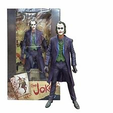 "NECA THE JOKER HEATH LEDGER DC COMICS COLLECTIBLE BATMAN DARK KNIGHT 7"" FIGURE"