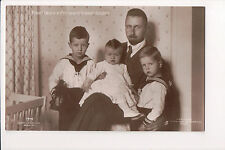 Vintage Postcard Princess Oskar of Prussia & Family