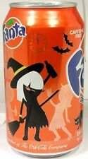 FULL New 12oz Can Coca-Cola's Fanta Orange USA Limited Edition Halloween 2012