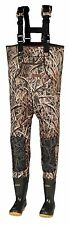 New 3mm Shadow Grass Blades Camo Hunting Neoprene Wader Lug Boots Sz 10 Stout