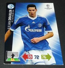 JULIAN DRAXLER ROOKIE SCHALKE 04 UEFA PANINI FOOTBALL CHAMPIONS LEAGUE 2012 2013