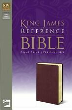 King James Reference Bible by Zondervan Publishing Staff (2004, Paperback,...