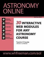 Astronomy Online by Timothy F. Slater (2002, Paperback)