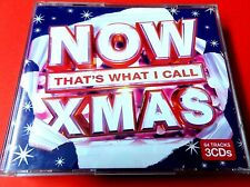 NOW THAT'S WHAT I CALL XMAS   2010  3 x CD   *VG / EX*  DARKNESS  ABBA  EAST 17