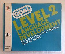 Vintage GOAL Level 2 Language Development Cards Autism Special Education Needs