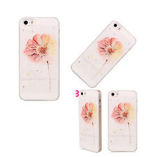 Pattern Floral Hard Skin Case Cover Back Protector fits for Apple iPhone 5c 1Pcs