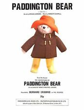 Paddington Bear AVVENTURE imparare a giocare PIANOFORTE VOCAL GUITAR MUSIC BOOK