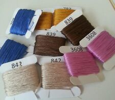 3x DMC Threads PICK UR OWN COLOURS FROM LIST (8 metres each)