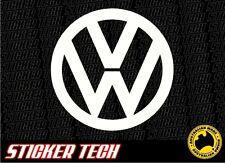 VW VOLKSWAGEN LOGO STICKER DECAL SUIT KOMBI VAN COMBI MK6 GOLF POLO R32 MK1 MK2