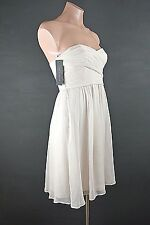 NEW Ann Taylor Dress Petite 0P Strapless Baby Pink Mini Cocktail Prom Party NWT
