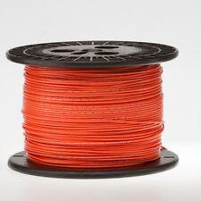 """18 AWG Gauge Stranded Hook Up Wire Orange 250 ft 0.0403"""" UL1007 300 Volts"""