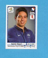 PANINI-EURO 2012-Figurina n.476- NASRI - FRANCIA -NEW WHITE BOARD